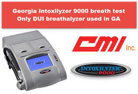 Georgia Intoxilizer 9000 DUI Breath Tester