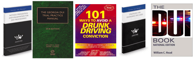 Bubba Head DUI Books