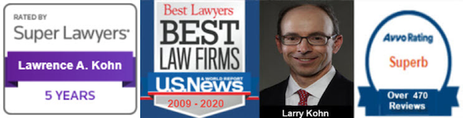 Larry Kohn - Super Lawyers - Best Law Firms - Avvo Rating