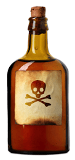 Poison Symbol for Alcohol